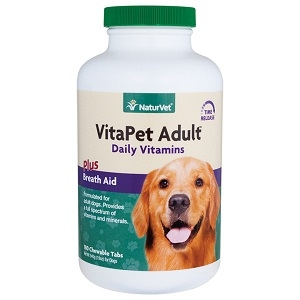Naturvet Vita Pet Adult Stage Multi-vitamin 180ct