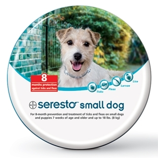 Bayer Seresto Small Dog Flea & Tick Collar