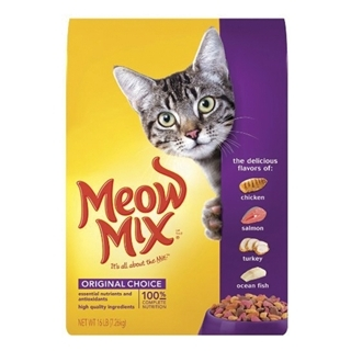 Meow Mix Original Choice Dry Cat Food 16 Pound