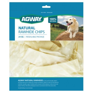 Agway™ Natural Rawhide Chips 24 oz.