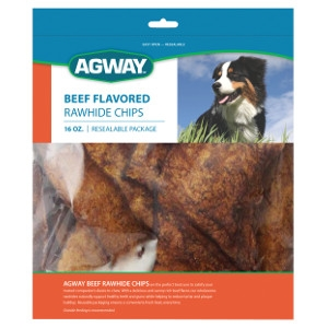Agway™ Beef Flavored Rawhide Chips