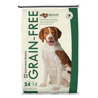 Southern States Grain-Free White Fish and Potato Formula Dog Food 30 Pound