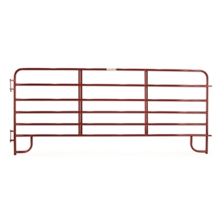 Tarter 6-Bar Economy Corral Panel Red 12 Foot