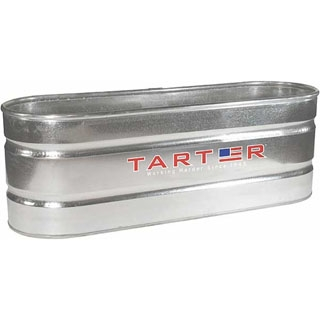 Tarter Oval Galvanized Stock Tank 169 Gallon