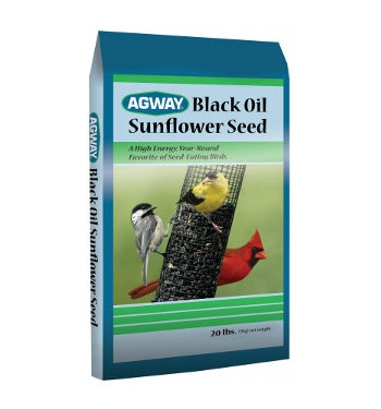 Agway Black Oil Sunflower Seed 50lb