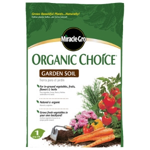 Miracle Gro Organic Choice Garden Soil