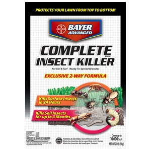 Bayer Advanced Complete Insect Killer For Soil & Turf 20lb