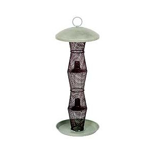 No/no Finch Feeder Green And Black