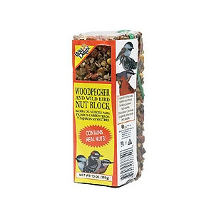 Wild Delight Woodpecker Nut Block 13oz