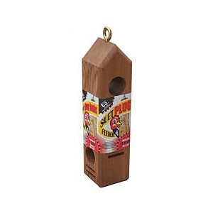 C&s Wooden Suet Plug Feeder