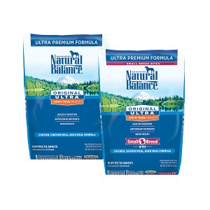 Natural Balance Ultra Premium Dry Dog Foods 30lb
