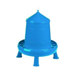 $5 Off Poultry Feeder with Legs 17.5 lb