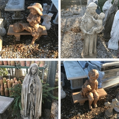Save on Concrete Statuary