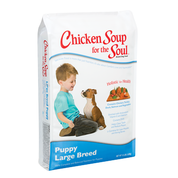 Chicken Soup for the Pet Lover's Soul® Large Breed Dy Puppy Food