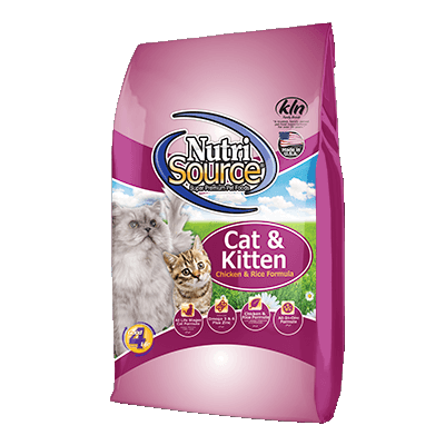 NutriSource® Cat & Kitten and Rice Dry Cat Food