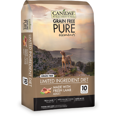 CANIDAE® Grain Free PURE Elements® with Fresh Lamb Dog Dry Food