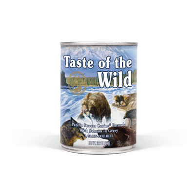 Taste of the Wild Pacific Stream Salmon & Gravy Grain Free Canned Dog Food