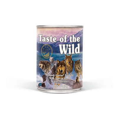 Taste of the Wild Wetlands Fowl in Gravy Grain Free Canned Dog Food