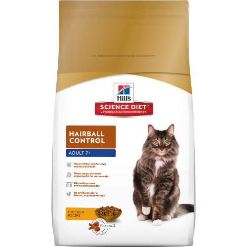 Hill's® Science Diet® Adult 7+ Hairball Control Cat Food