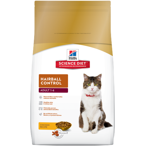 Hill's® Science Diet® Adult Hairball Control