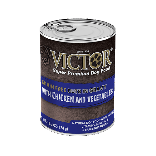 VICTOR® with Chicken and Vegetable Cuts in Gravy Grain Free Canned Dog Food