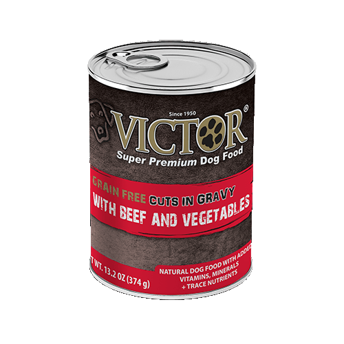 VICTOR® with Beef and Vegetable Cuts in Gravy Grain Free Canned Dog Food