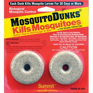 Summit Chemical Mosquito Dunks® - $2 Off Any Size