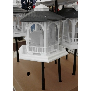 Deluxe Gazebo Feeder W/ Pole $39.99