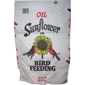 Black Oil Sunflower Seed 40lb Only $14.99