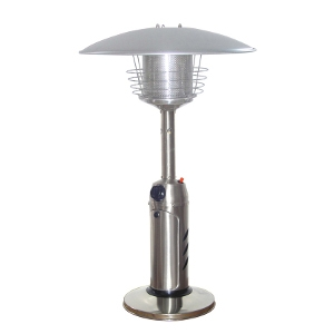 Outdoor Tabletop Patio Heater - Stainless Steel Finish