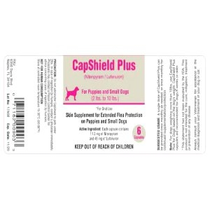 CapShield Plus Canine Flea Medication