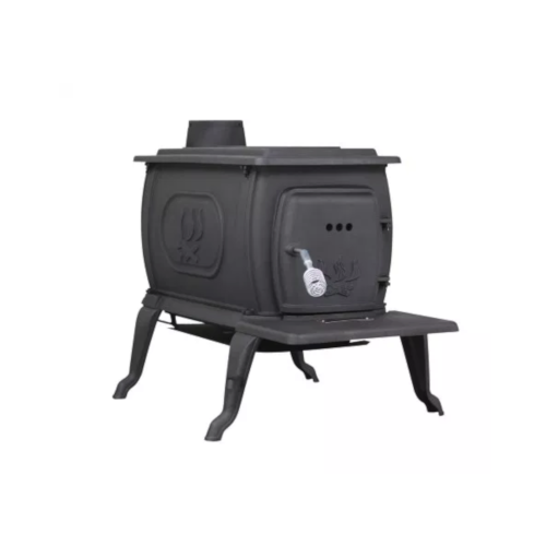 Cast Iron Logwood Stove, Large