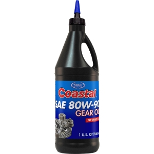 Coastal 80W-90 Gear Oil 1 qt