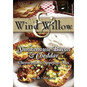 Smokehouse Bacon and Cheddar Cheeseball & Appetizer Mix by Wind & Willow