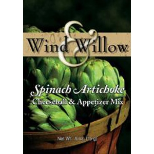 Spinach-Artichoke Cheeseball & Appetizer Mix by Wind & Willow