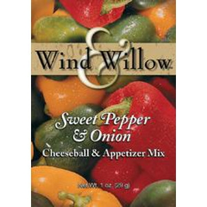 Sweet Pepper and Onion Cheeseball & Appetizer Mix by Wind & Willow