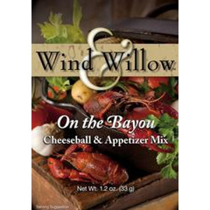 On the Bayou Cheeseball & Appetizer Mix by Wind & Willow