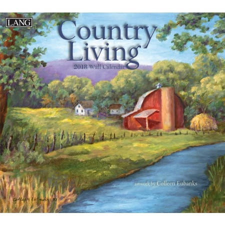 Lang Country Living 2017-2018 Wall Calendar