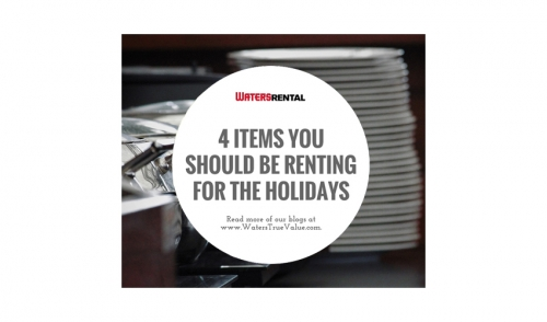 Items You Should Be Renting For The Holidays