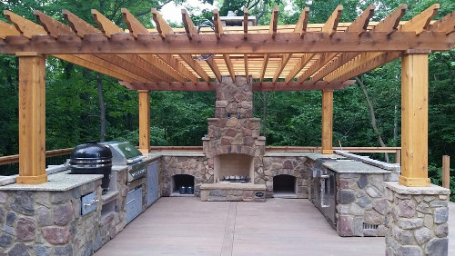 Integrity Nursery Builds Outdoor Kitchens