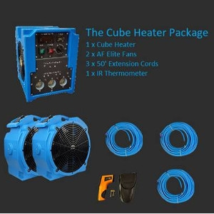K and J Representatives The Cube Bed Bug Heater