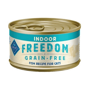 BLUE Freedom Grain-Free Indoor Fish Recipe 12 Pk.