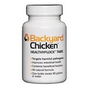 Backyard Chicken HealthyFlock Tabs