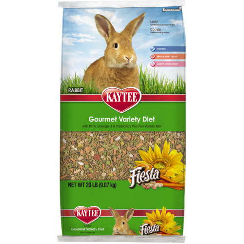Kaytee Fiesta Rabbit Food 20 lb.