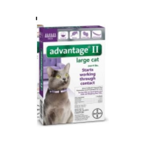 Advantage® II For Large Cats, 2 Pk.