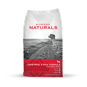 Diamond Naturals Lamb Meal & Rice Formula for Adults Dog Food, 40 lb.