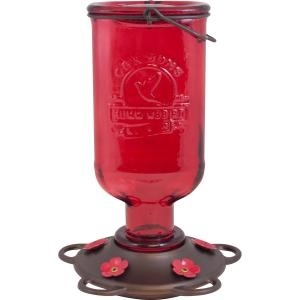 More Birds Elixir Hummingbird Feeder, 13 oz.