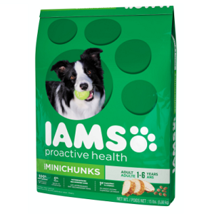 Iams ProActive Health Adult Minichunks Dog Food, 30 lb.