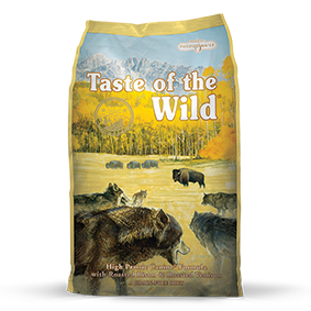 Taste of the Wild High Prairie Canine Formula with Roasted Bison and Roasted Venison, 30 lb.