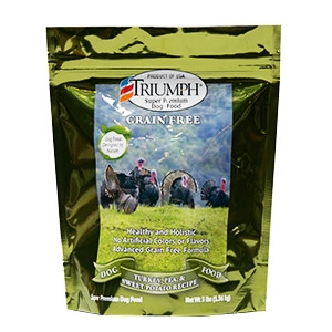 Triumph Grain Free Turkey, Pea & Berry Jerky Dog Treats 24oz